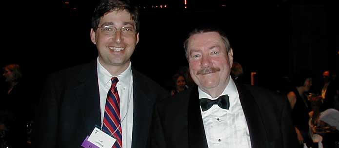 Lee Goldberg and Robert Parker at the Edgars