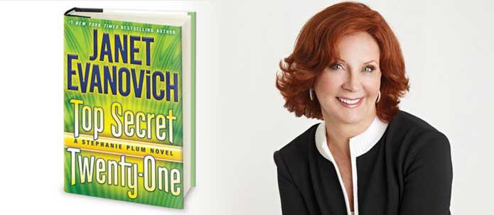 Top Secret Twenty-One by Janet Evanovich - On Sale June 17