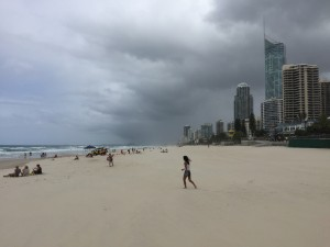 The Gold Coast in Australia.