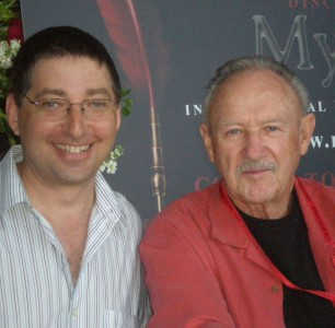 Lee with Gene Hackman in Owensboro