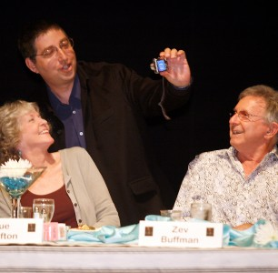 Lee with Sue Grafton & Zev Buffman
