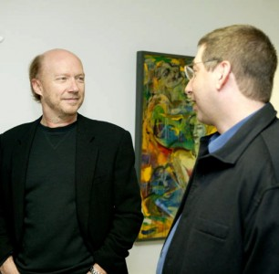 Paul Haggis & Lee at the Cologne Conference 2007