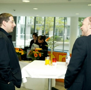Lee & Paul Haggis at Cologne Conference 2007