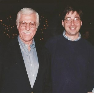 Lee with Dick Van Dyke