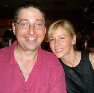 Lee Goldberg with Traylor Howard-2