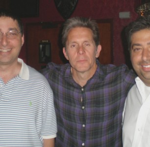 Lee with Gary Cole & Tod Goldberg