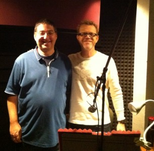 Me and audiobook recording superstar Scott Brick
